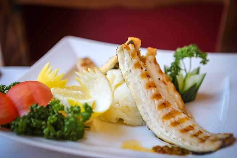 Levrek (grilled sea bass)